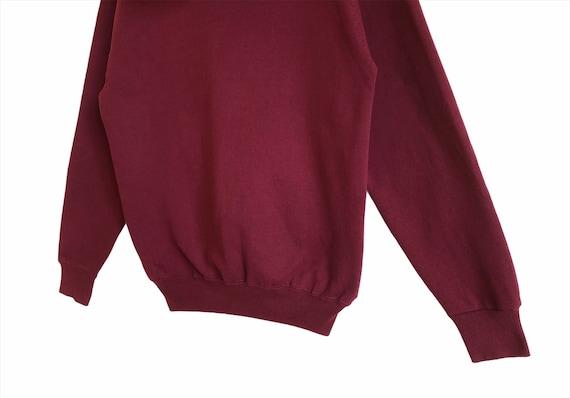 Vintage Russell Athletic Plain Hoodie Sweatshirt - image 6