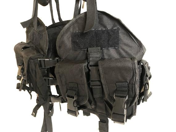 Vintage Multi Pockets Tactical Vest - image 4
