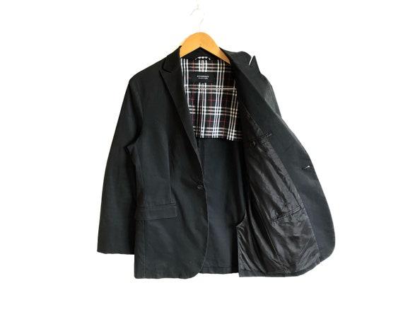 Burberry Black Label Nova Check Coat Jacket