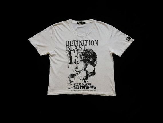 Sex Pot Revenger Pride Of Roadside Japanase Seditionaries Small Size Long Sleeve Punk Tshirt