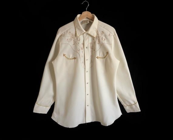 H Bar C California Ranchwear Buttons Down Western