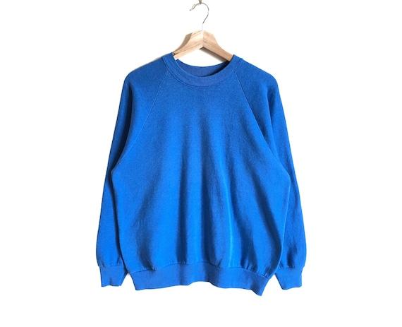 Vintage 90s Fruit Of The Loom Plain Sweatshirt