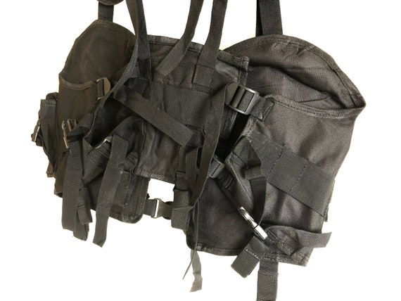 Vintage Multi Pockets Tactical Vest - image 7
