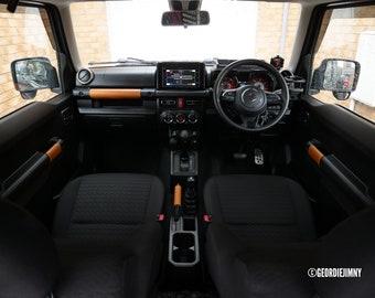Deluxe Leather Handles - Whiskey Colour (JB64 / JB74 Suzuki Jimny 2018 onwards)