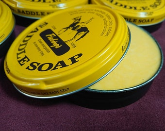 Fiebing's Saddle Soap, solid, 100g (3.5 oz)