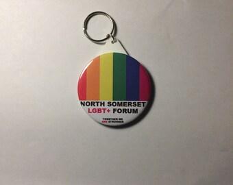 /'I Love Somerset/' Pin Button Badge Magnet Keyring Bottle Opener Mirror