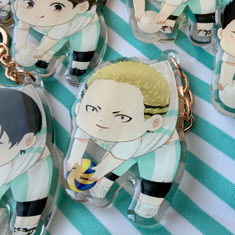 Clear Acrylic Charm Kentarou Kyoutani Haikyuu!