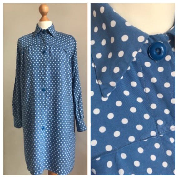 Super true vintage late 1940s or early 1950s blue