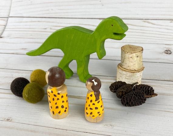 Dinosaur Playscapevolcano felt play matsmall worldwooden peg dollimaginative play kitloose partsopen ended toy