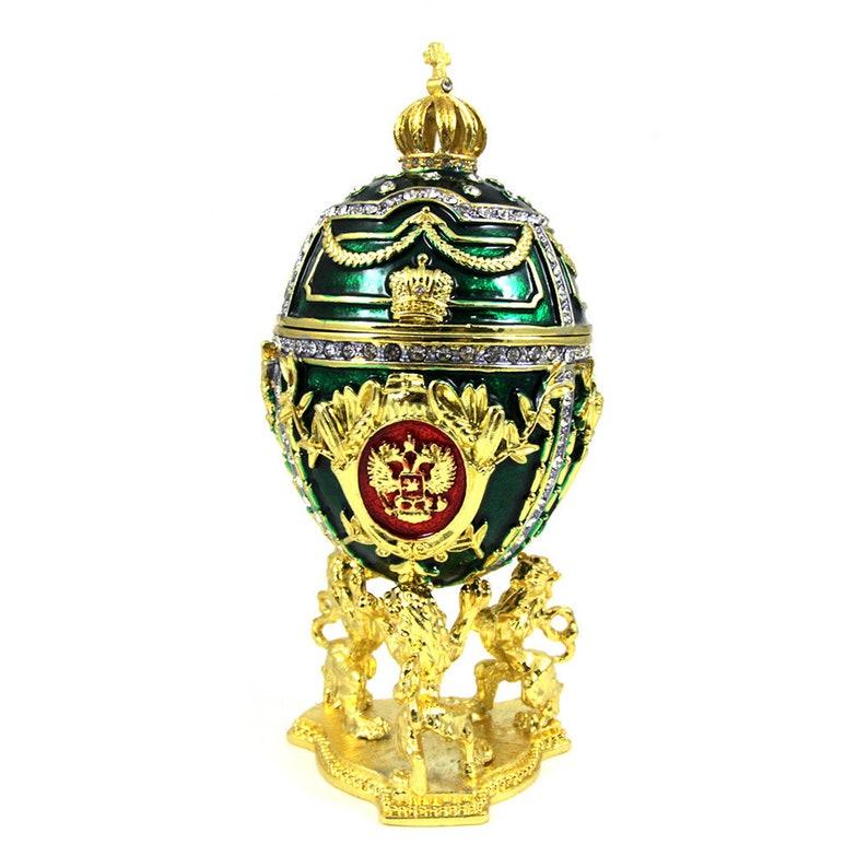 Faberge Style Egg Music Box