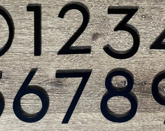 Address Numbers 6 inch Apartment complex Numbers Condo Numbers Mailbox Numbers Gift Ideas