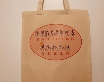 BSLAuslan Shopping Queen Tote Bag.