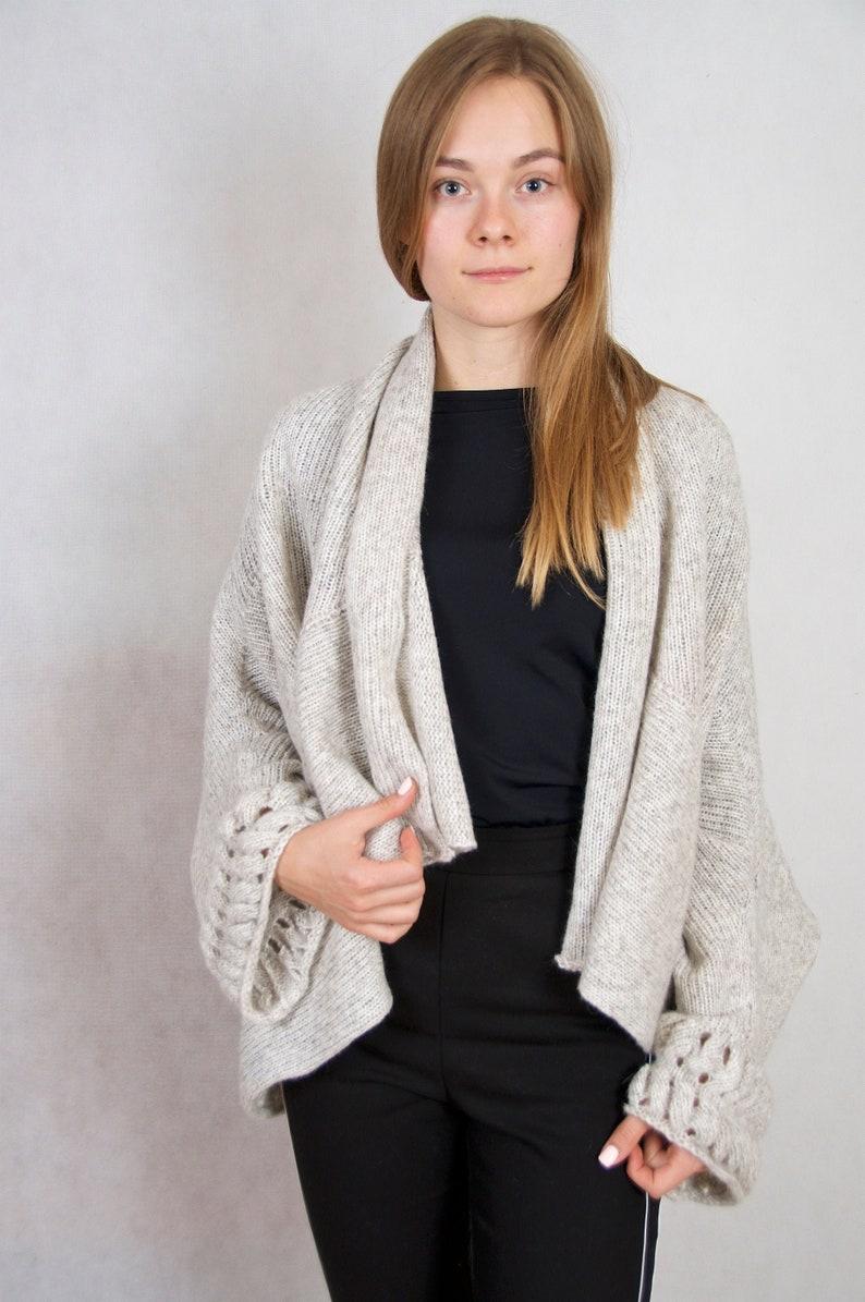 cardigan women knit sweater coat wool cardigan oversized sweater plus size clothing organic clothing long wool coat open front cardigan top