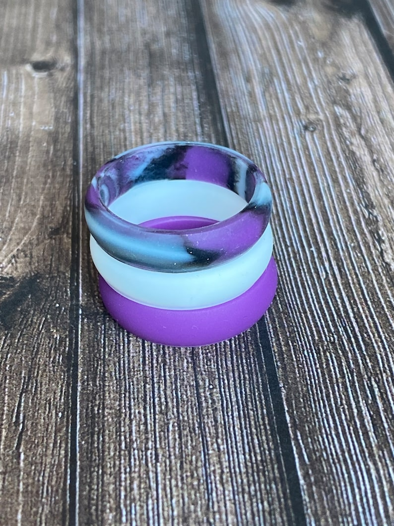 medical grade and a lot more while being trendy non-toxic stackable Silicone Rings eco friendly wedding