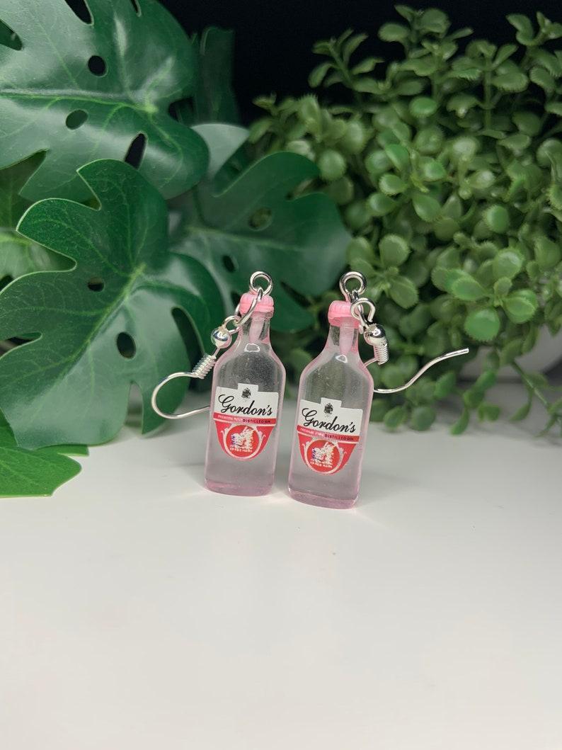 Gordons Pink Gin Earrings