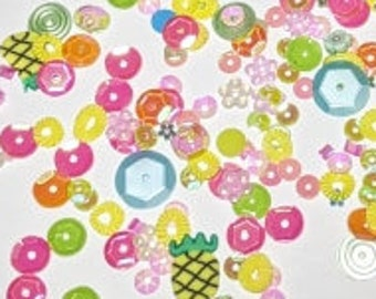 Pineapple Garden - Doodles Paper Playground: Sparkle Blends