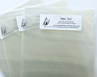 Window Sheets - 4x6 Clear Acetate Sheets - Doodles Paper Playground: Essentials Collection