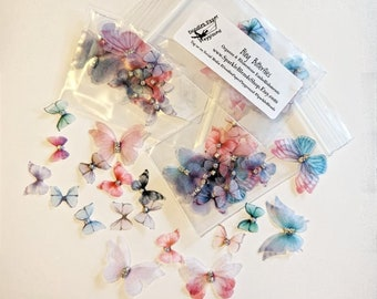 Bling Butterflies - Doodles Paper Playground: Embellishment Collection