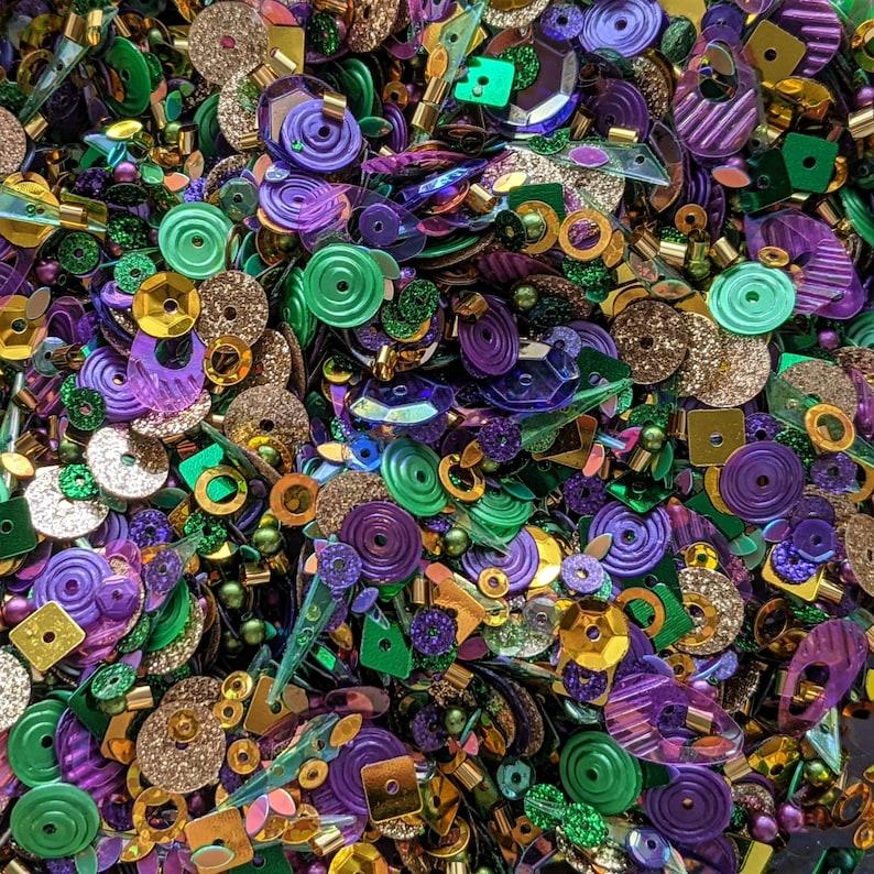 Mardi Gras Beads  Doodles Paper Playground: Sparkle Blends image 0