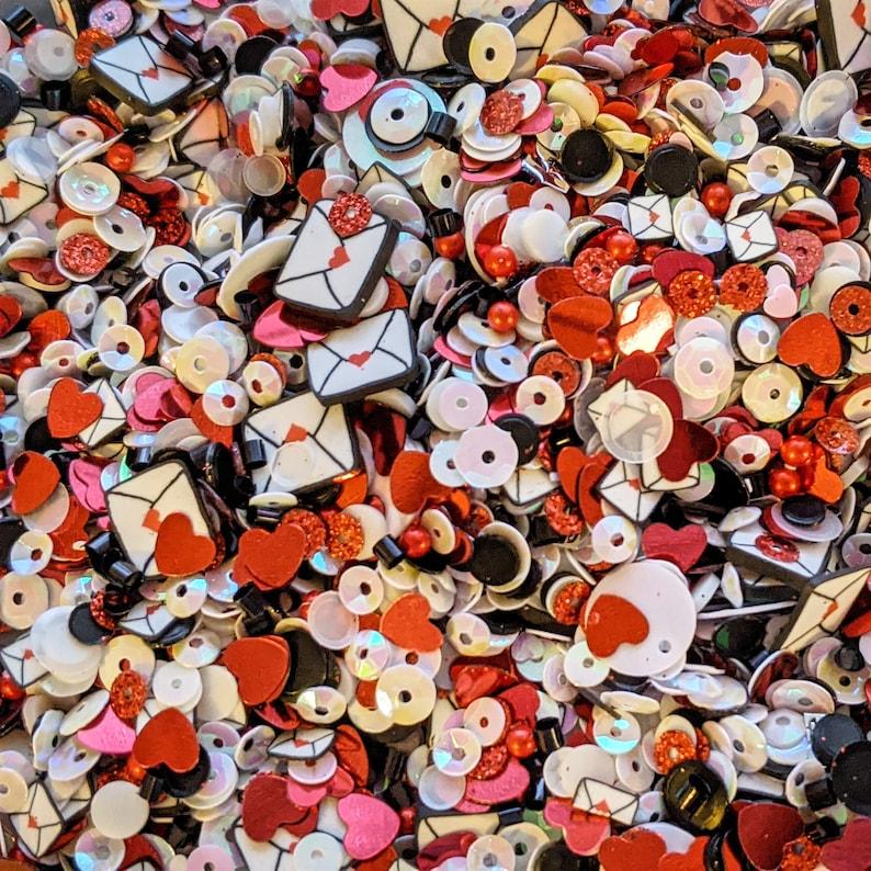 Love Letters  Doodles Paper Playground: Sparkle Blends image 0