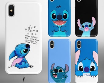 Stitch iphone case Etsy