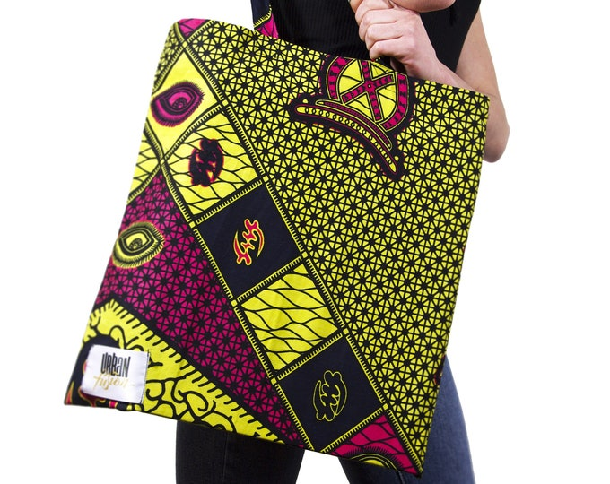 Featured listing image: EYE OF RA - Tote Bag / Reusable Grocery Bag / Weekend tote bag / Beach bag