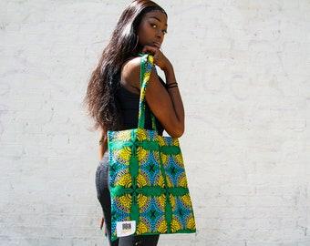 HAWAIIAN - Tote Bag / Reusable Grocery Bag / Weekend tote bag / Beach bag