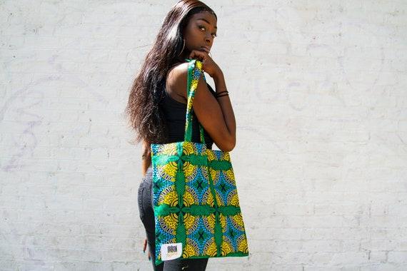 Tote Bag / Reusable Grocery Bag / Weekend tote bag / Beach bag /Shopping Bag /Sustainable Eco Friendly -HAWAIIAN-