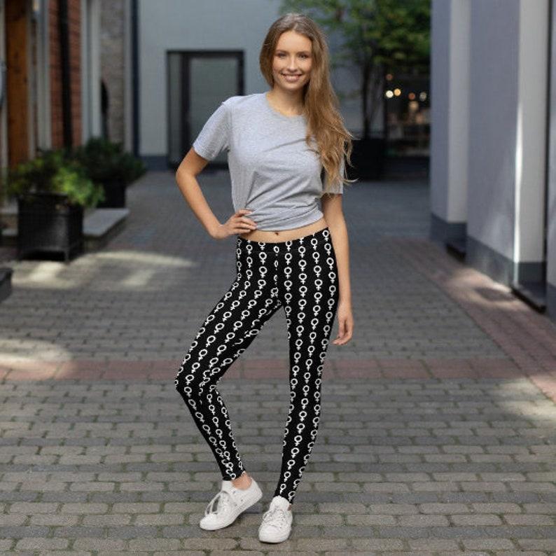 Feminist Leggings Yoga Pants Yoga Leggings