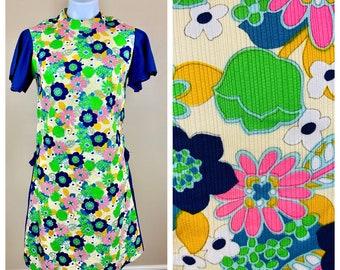 Flower Power Dress Etsy
