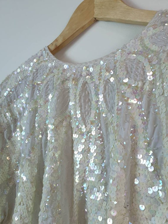 Vintage collectable sequin top
