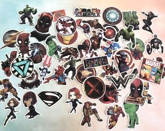 Lego AVENGERS SUPER HEROS Fenêtre Autocollant Mural Effet 3D View Poster Vinyle 168