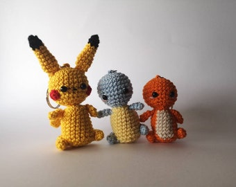 PIKACHU CROCHET PATTERN - Pokemon Amigurumi Pdf pattern - Pokemon Crochet  Pattern - Plush pokemon #stuffedtoyspatterns (With images) | Pikachu  crochet, Crochet pokemon, Pokemon crochet pattern | 270x340
