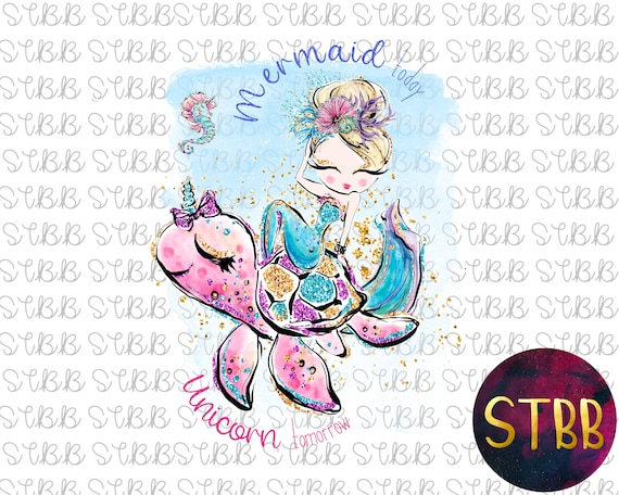 mermaid transfer sublimation transfer sublimation design iron on mermaid watercolor clipart sublimation template mermaid clipart