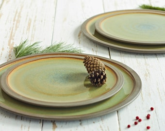 Pottery made Serving and Dessert Plates