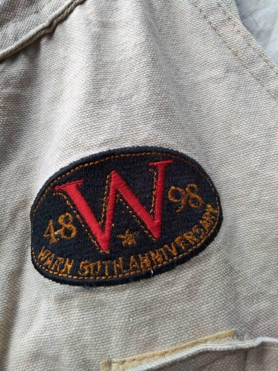 Vintage warn vest not off road fj40 fj45 Toyota l… - image 3