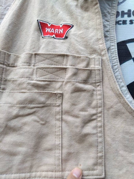 Vintage warn vest not off road fj40 fj45 Toyota l… - image 8