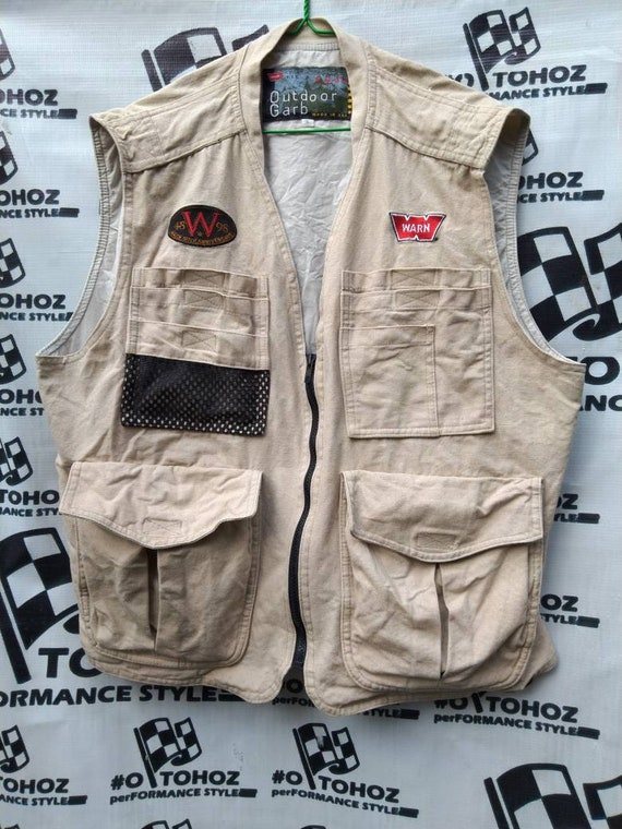 Vintage warn vest not off road fj40 fj45 Toyota la