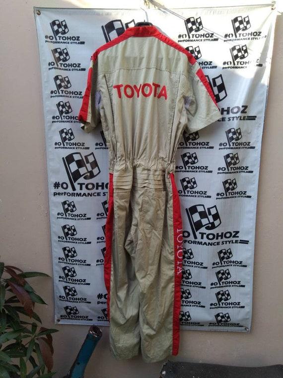 Toyota coveralls not TRD WRC Nismo F1 racing