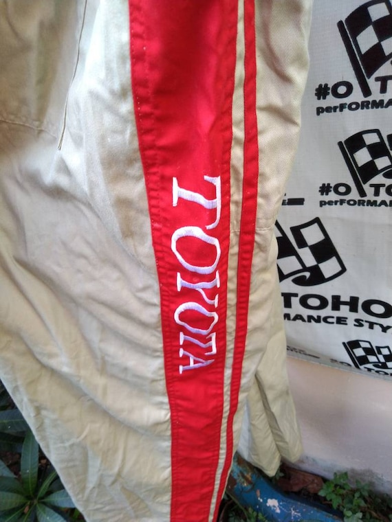 Toyota coveralls not TRD WRC Nismo F1 racing - image 5