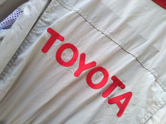Toyota coveralls not TRD WRC Nismo F1 racing - image 6
