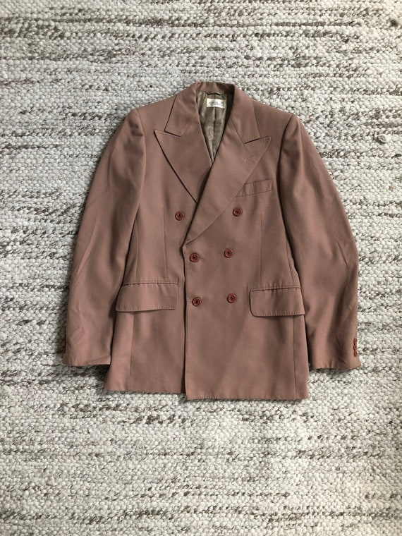 Vintage 1960s Double Breasted Blazer