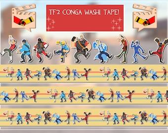 TF2 Conga! Washi Tape