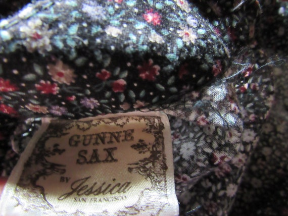 Harvest Wildflower Calico Gunne Sax Gunnies Vinta… - image 10