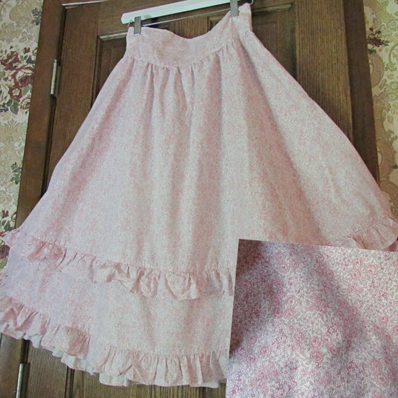 Pretty in Pink Calico Gunne Sax Gunnies Vintage 19