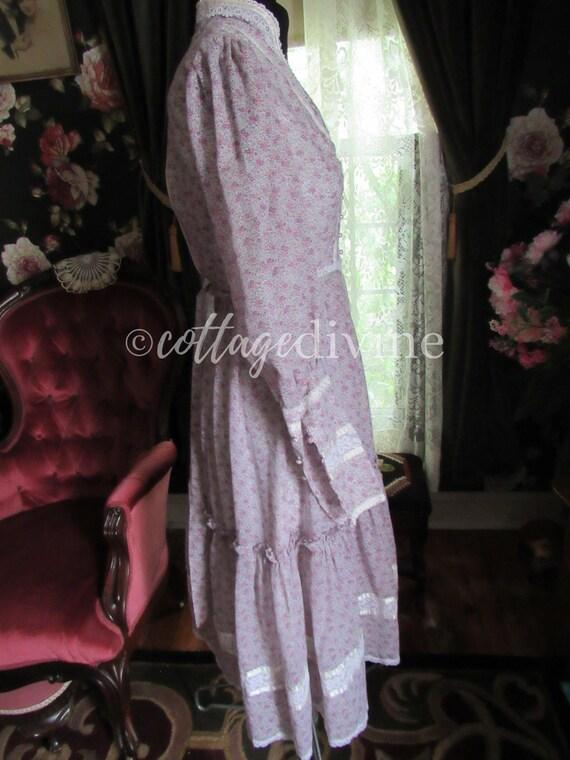 GUNNE SAX Summer Wildflowers Victorian Vintage 19… - image 6