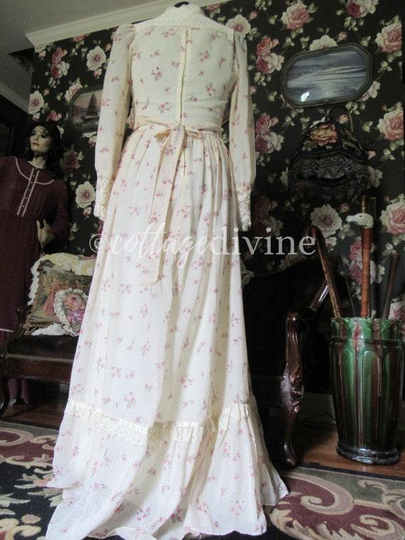 Secret Rose GUNNE SAX Lace Corset Style Vintage 1… - image 3