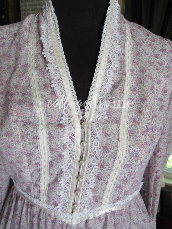 GUNNE SAX Summer Wildflowers Victorian Vintage 19… - image 5