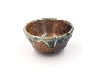 Wood Fired Drip Teacup | Angled Foot | TWC51