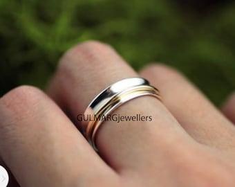Spinner Ring,Anxiety Ring,Dainty Ring,Fidget Ring,Worry Ring,925 Sterling Silver Ring,Worry Ring,Promise Ring,Handmade Ring,Meditation Ring
